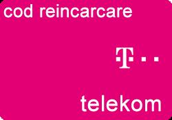 Cod reincarcare Telekom 8 Euro