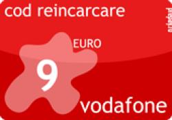 Cod Reincarcare Vodafone 9 EUR