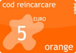 Cod reincarcare Orange 5 Euro