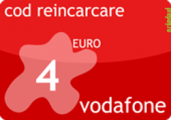 Cod Reincarcare Vodafone 4 EUR